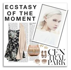 """""""Ecstasy of the Moment"""" by faionacobb ❤ liked on Polyvore featuring Hedi Slimane, LARA, GlassesUSA and Chloé"""