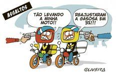 Reajuste da gasolina | Humor Político