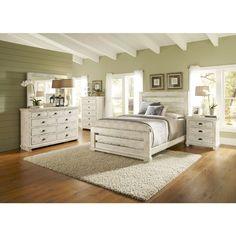 White king bedroom set costco decor pinterest king bedroom costco and bedrooms for Ashfield 6 piece queen storage bedroom set