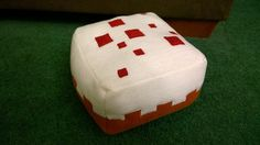 Minecraft plushie: cake by ctmarie3, via Flickr