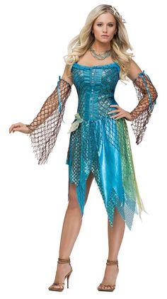 Sea Siren Sexy Costume - Mermaid Costumes