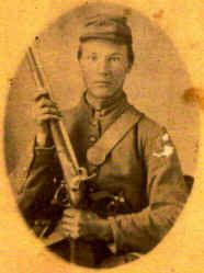 John Lewis Dunn, fought with the Kentucky Orphan Brigade. Mortally wounded at Chickamauga.