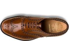 Church's Men's Collection / Heavy Sole Burwood Polished Binder Sandalwood