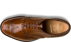 Church's Men's Collection / Heavy Sole Burwood Polished Binder Sandalwood