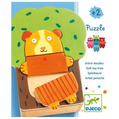 - The Tree Cuddly Puzzle from Djeco is a fun way to initiate your little one to puzzle. The puzzle features 15 pieces to build 5 colourful animals. Your children will have fun matching or mixing up the colours and Puzzles For Toddlers, Games For Kids, Toy Trees, Rosalie, First Birthday Gifts, Musical Toys, Colorful Animals, Puzzle Toys, Christening Gifts