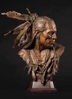 1832, Arikara Warrior