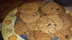 Elliott's Cranberry Walnut Oatmeal Cookies
