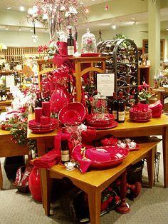 holiday display & winery