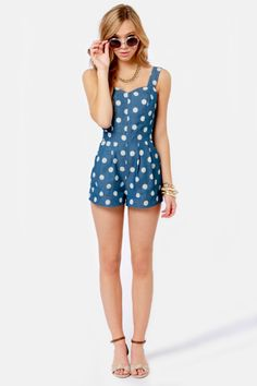 The Cutest Blue #Romper. Love it!! http://studentrate.com/StudentRate/itp/get-itp-student-deals/LuLu-s-Student-Discount--/0