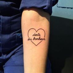 """Dents du bonheur"" sur @melodieorru #tattoo #ink #inked #thecrayoner by thecrayoner"