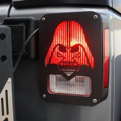 Jeep Wrangler Accessories - Black Tail Light Guard Star War Darth Vader for Rear Tail Light Cover for 2007-2018 Jeep Wrangler JK and Unlimited JKU - Pair Jeep Wrangler Lights, Jeep Wrangler Jk, Star Wars Cookbook, Light Up Lightsaber, Jeep Jku, 4x4, Jeep Wrangler Accessories, Light Covers, Jeep Life