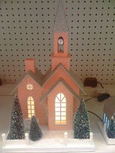 iphone paper Christmas houses at Target 002 by Patrick Q, via Flickr