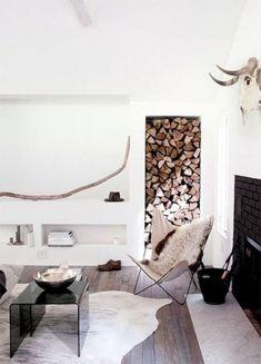 Lovely Scandinavian Fireplace To Rock This Year 31 Scandinavian Fireplace, Scandinavian Interior Design, Beautiful Home Designs, Beautiful Interiors, House Beautiful, Living Room Interior, Living Room Decor, Living Rooms, Küchen Design