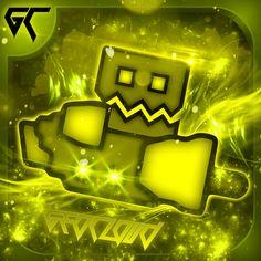 Dash Image, Gd, Game Art, Youtubers, Geometry, Fanart, Icons, Garbage Pail Kids, Fan Art