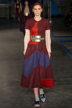 Roksanda Fall 2014 Ready-to-Wear Fashion Show