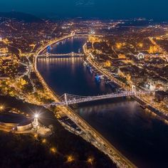 "Travel Hungary on Instagram: ""Big City Light 😍✨ photo: @gergo.bakos 📸 #budapest #citylight #travelhungary #explorebudapest #heartofeurope"" Heart Of Europe, Beautiful Places In The World, City Lights, Hungary, Budapest, River, Explore, Big, Outdoor"