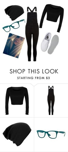 """""""Athena Parente #1"""" by black-337 on Polyvore featuring New Look, Ray-Ban and Vans"""