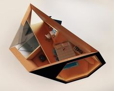 YES! Origami house inside!