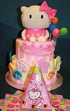 hello kitty party ... perfect for my Rue