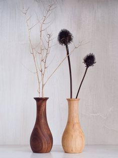 Your place to buy and sell all things handmade Mini Vase, Wooden Vase, Bud Vases, Wood Turning, Decoration, Dried Flowers, Flower Pots, Weed, Natural Beauty