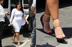 Dr. Ernest L. Isaacson, NYC podiatrist, discusses Kim Kardashian's swollen feet and legs due to her pregnancy.