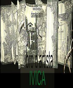 "Libro d'Artista ""Amabili Frammenti"" Sacro Delta Ivica"