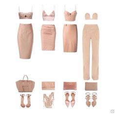 This season is all about your nudes and peaches; neutral and light colour pallet