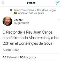 Consigue hoy tu #master y presume como la #cifuentes #pp #corrupción #universidad #españa #yaestábien #mentira #patologia