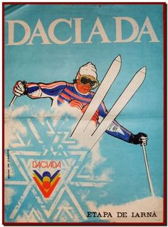 Rare Daciada 1989 winter games poster in Romania Vintage Ski Posters, Retro Posters, Romanian People, Luggage Labels, Winter Games, Childhood Memories, Skiing, Retro Vintage, Instagram