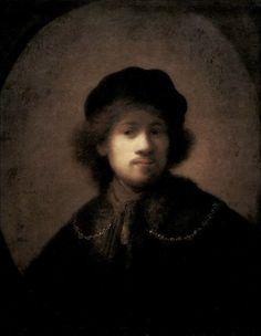 Rembrandt Harmenszoon van Rijn · Autoritratto · 1630 · Walker Art Gallery · Liverpool