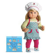 Bitty Twin Twins Chef Outfit Apron Set