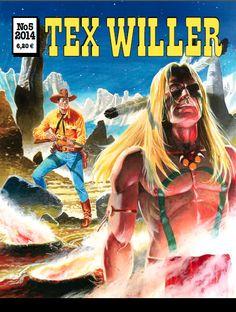 Tex Willer -lehti no 5/2014. #egmont #sarjakuva #sarjis #sarjakuvalehti