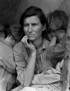 Astounding!  Dorothea Lange, Mère migrante (Migrant Mother), 1936