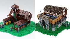 Several fans of Age of Empires II have recreated some of the game's iconic buildings with LEGO bricks. These LEGO Age of Empires II Buildings are amazing!