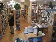 Raven used books. 263 Newbury Street.  Boston