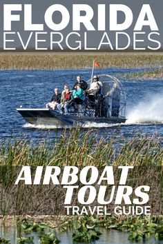 Discover the Florida Everglades National Park on an Airboat tour of the Florida Everglades. One of the best things to do in Florida, these Everglades airboat tours are very accessible from anywhere in Southern Florida. Visit Florida, Florida Beaches, Florida Usa, Florida Keys, South Florida, Fl Keys, Sandy Beaches, Florida Vacation Packages, Florida Travel