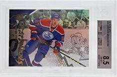 Connor McDavid PSA Graded 8.5 Stick Wizards 2015-16 SPX 89 Edmonton Oilers #EdmontonOilers