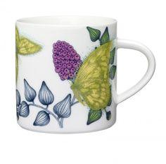 Arabia Runo Butterfly mug 0,35 l