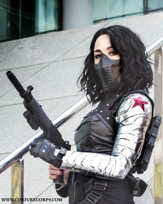 New and Improved Winter Soldier Arm More - COSPLAY IS BAEEE! Tap the pin now to grab yourself some BAE Cosplay leggings and shirts! From super hero fitness leggings, super hero fitness shirts, and so much more that wil make you say YASSS! Marvel Halloween Costumes, Halloween Cosplay, Halloween Outfits, Comic Con Costumes, Amazing Cosplay, Best Cosplay, Female Cosplay, Anime Cosplay, Winter Soldier Cosplay