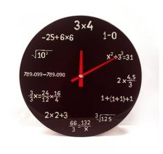 Relógio Matemática