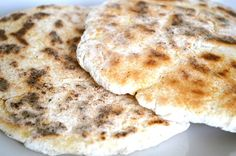 Gluten and Dairy Free Pitta Breads