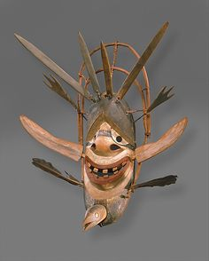 Yup'ik Mask, Metropolitan Museum of Art
