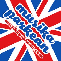 "Musika Parkean 2012 - ""Pop (Union Jack)"" pegatina  #unionjack"