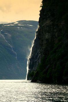 Geiranger waterfall