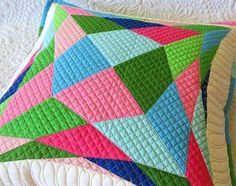 Geta's Quilting Studio: Quilted Pillow Pattern