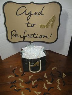 60th birthday decorations table centerpiece by welcometomystore, $14.99