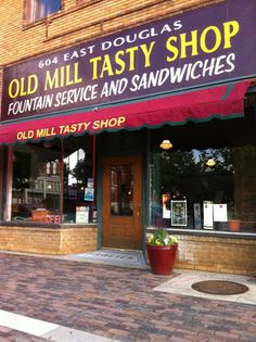 Old Mill Tasty Shop in Old Town Wichita by Practical Katie, via Flickr