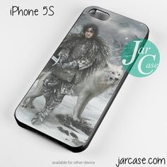 Game of Thrones Jon Snow 2 Phone case for iPhone 4/4s/5/5c/5s/6/6 plus