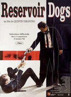 Reservoir Dogs 1992 French Grande Poster