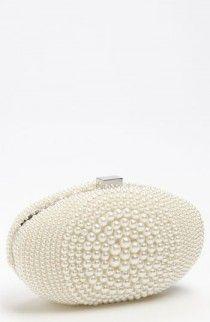 Sondra Roberts 'Beaded Bull's Eye' Clutch available at pretty Bridal Clutch Bag, Wedding Clutch, Wedding Bag, Clutch Bags, Wedding Ideas, Wedding Night, Wedding Bells, Wedding Bride, Wedding Inspiration